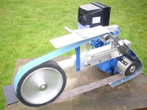 Maxigrinder with Multiwheel head and 250mm (10