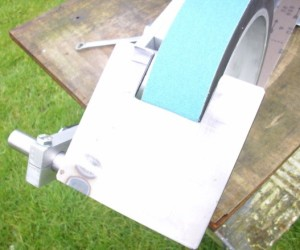 Cut out worktable